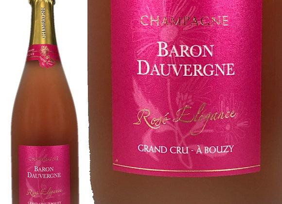 Baron Dauvergne(バロン_ドーヴェルニュ)Cuvee Elegance Rose(キュヴェ_エレガンス_ロゼ)