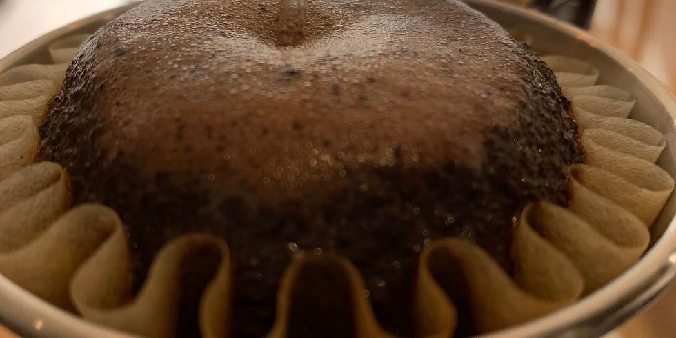【満席】自分好みのコーヒーを淹れるワークショップ(平日午前開催)