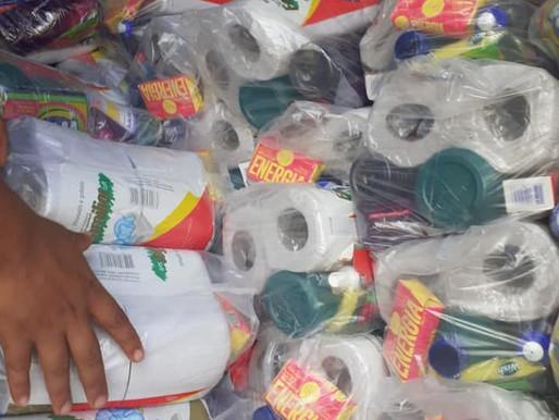 Indígenas Tupiniquim e Guarani recebem 150 cestas básicas e 150 kits de higiene