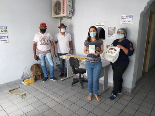Entrega dos equipamentos de proteção individual e coletivas nos povos indígenas de Pernambuco