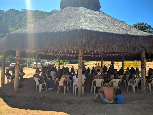 Reunião de Fortalecimento do Movimento Social Indígena de Minas Gerais