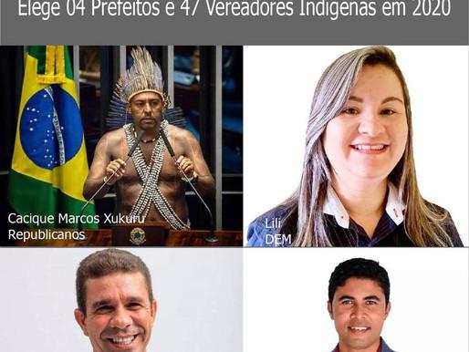 Nordeste, Minas Gerais e Espirito Santo Elegem 51 Candidatos Indígenas em 2020