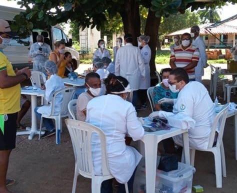 UFS realizaram testes sorológicos para identificação de anticorpos do COVID 19 em Indígenas Xokó