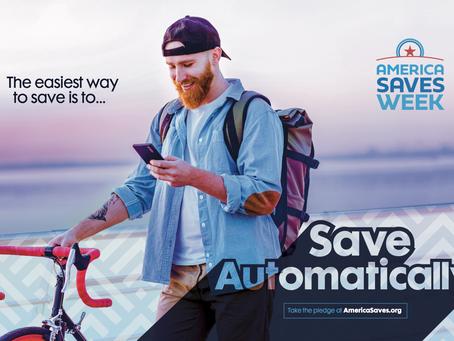 America Saves Week 2021: Save Automatically