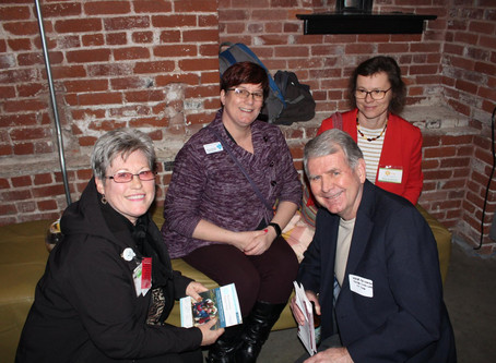 Release party of the Portland/Vancouver retirement guide