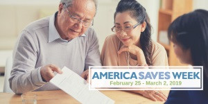 Today starts the America Saves week 2019: Check the Online Toolkit to plan YOUR savings