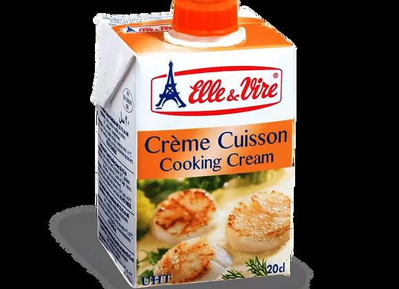 Elle & Vire Cooking Creme 200Ml
