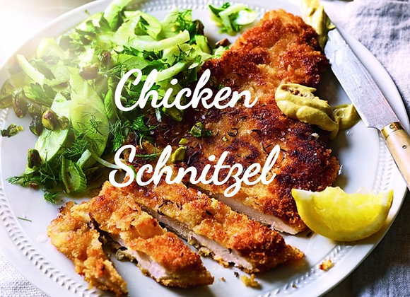 Chicken Schnitzel Ready to Cook