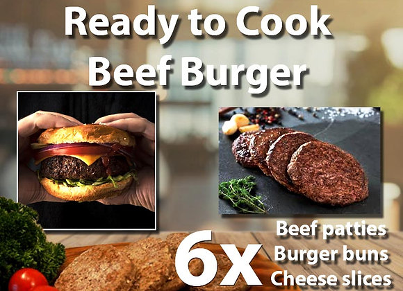 Burger Ready to Cook