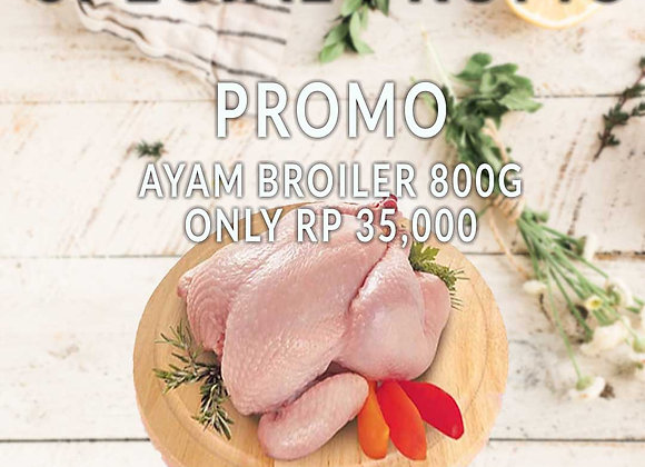 Promo Ayam Broiler (800 Gr)