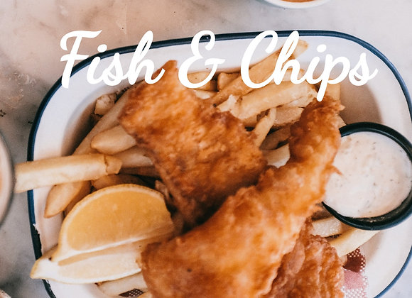 Fish and Chips Ready to Cook