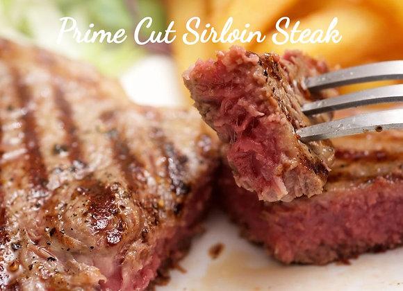 Sirloin Steak Ready To Cook