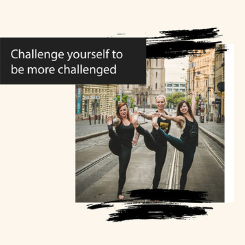 Challenge Yourself to be More Challenged