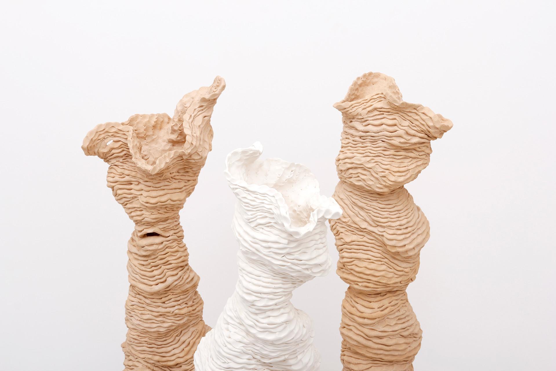 Sam Gold, Hive, 2020, porcelain and stoneware