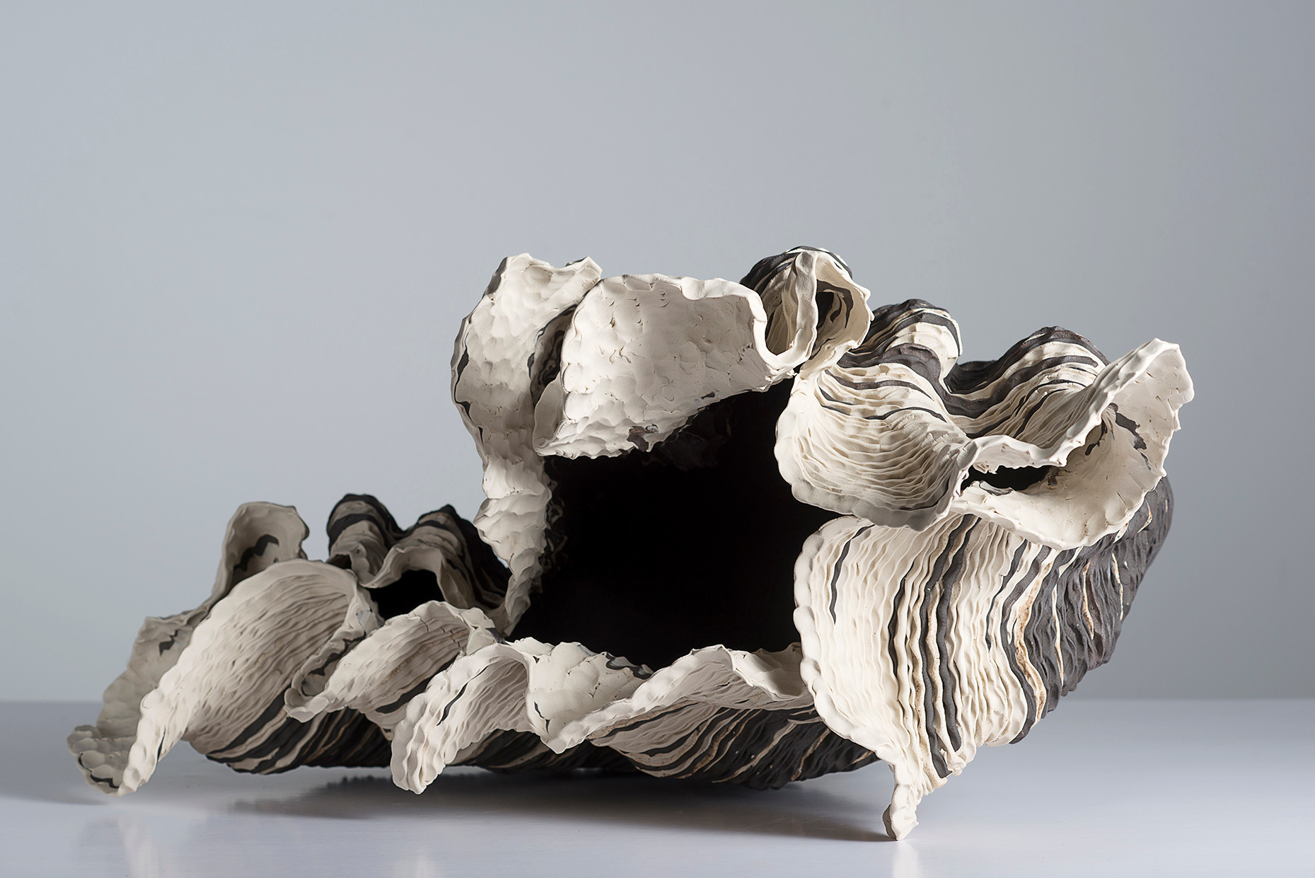 Sam Gold Sedimentary, 2018, porcelain and stoneware