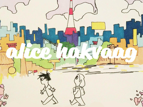 Sakura Student Part III - a comic by Alice Hakvaag