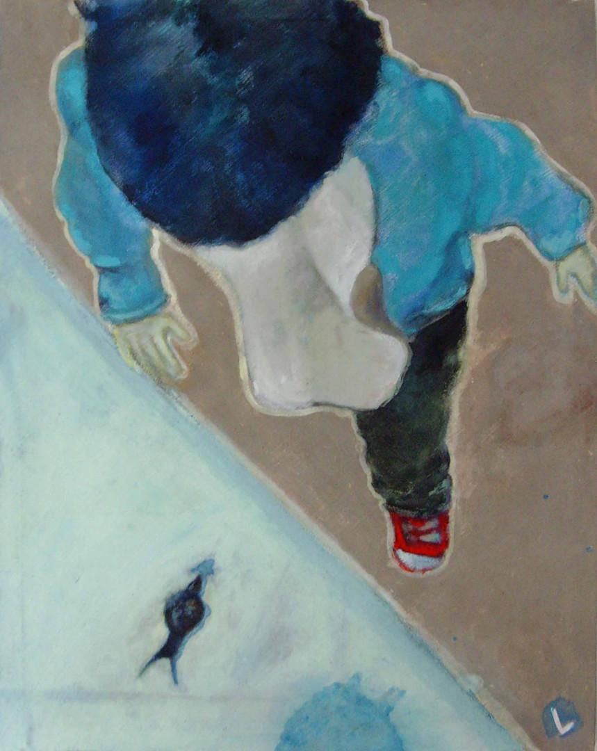 Blu indigeno 60x80 cm