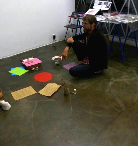Placenta Performance Schleifmühlgasse 12-14 Gallery di Vienna