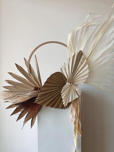 Palm Xmas Wreath - 30cm dia