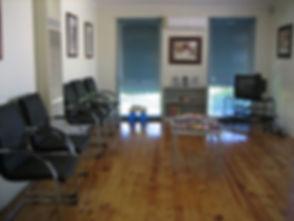 Reception Horne Street Chiropractic
