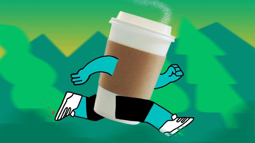It turns out a cup of coffee can help us when we're working out. But how much is helpful? And how much is too much?
