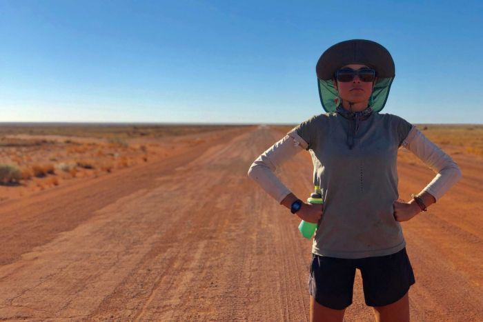Katie's run across Australia was far from her first big adventure. At age 23, she became the second youngest woman to run across the US.