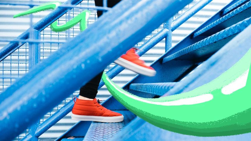 Even 20 seconds of stair-climbing can lead to measurable improvements in cardiorespiratory fitness.