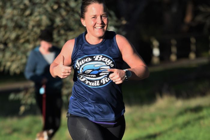 Sally Heppleston took up running as a hobby and hasn't looked back