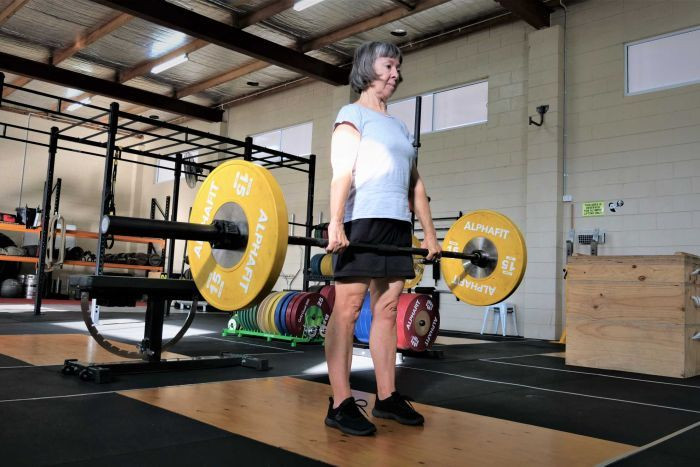Helen Donnellan started weightlifting after being diagnosed with osteoporosis.