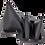 Thumbnail: 80-86 CJ T176/177/D300 Twin Stick Shift Boot Set