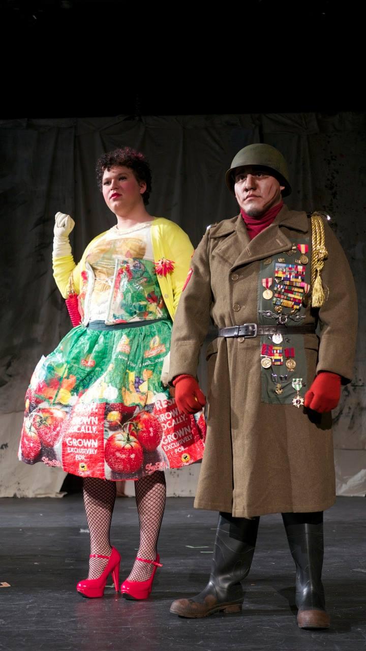 Scene 3 - Yvette & the Colonel
