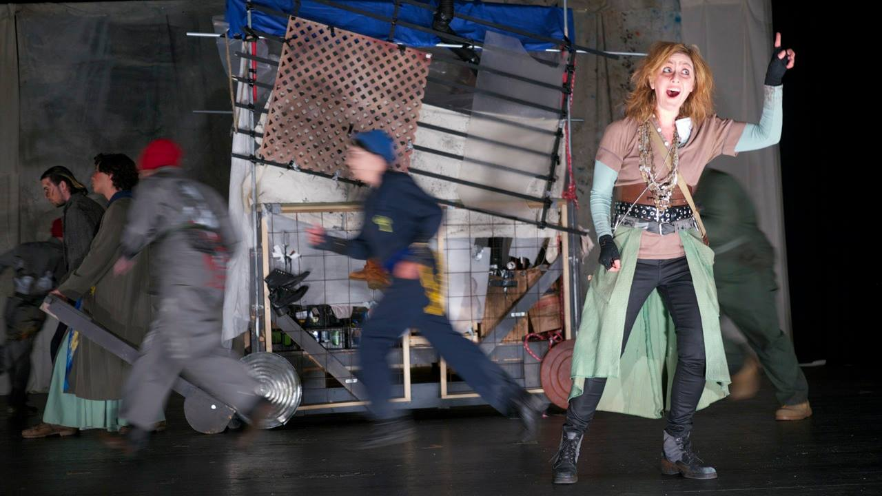Scene 7 - Mother Courage singing