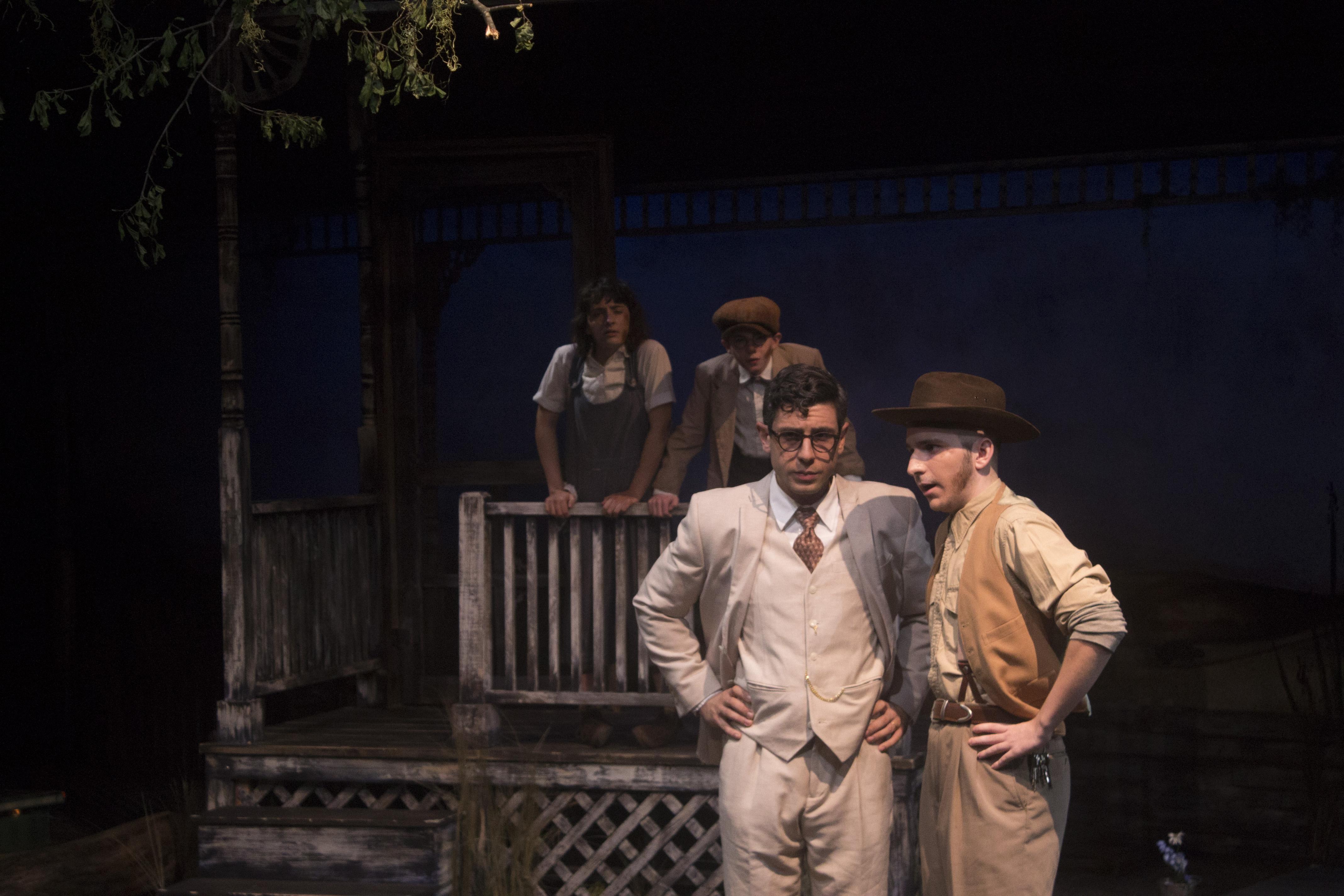 Atticus Finch & Heck Tate