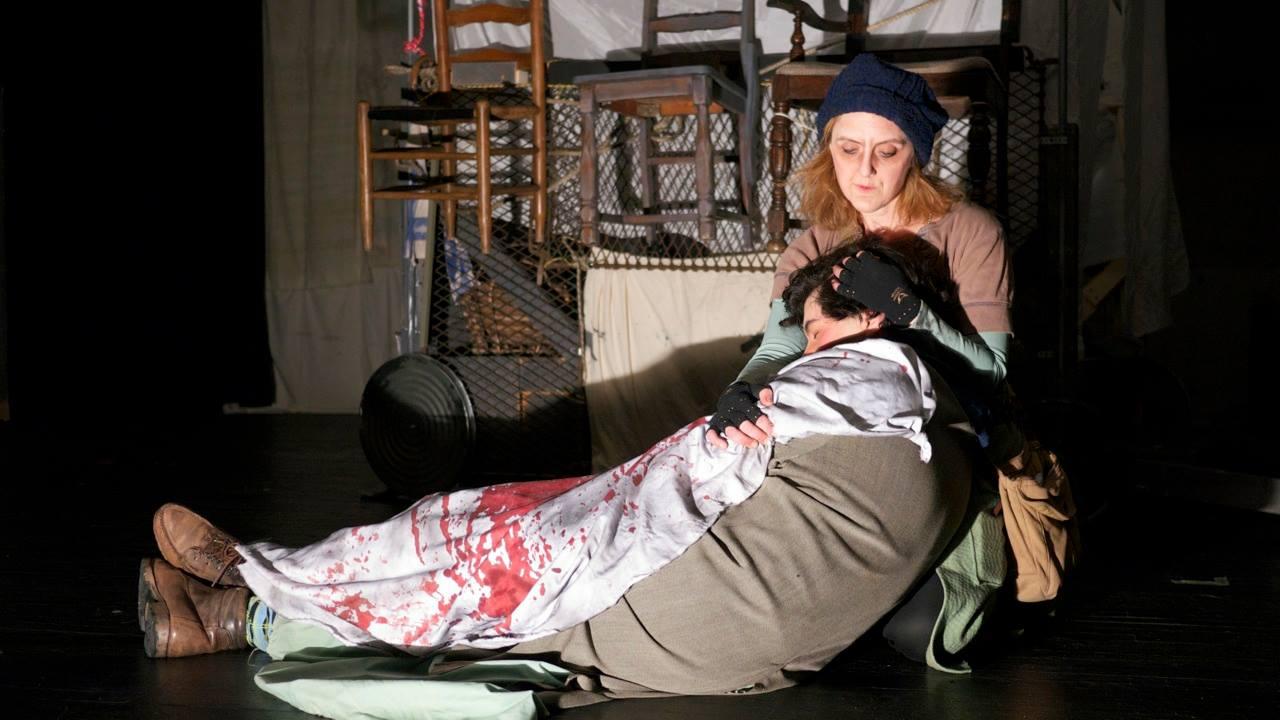 Scene 12 - Kattrin's death