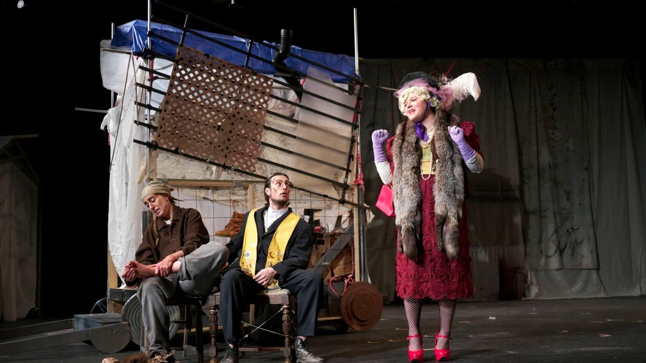 Scene 3 - Yvette's entrance
