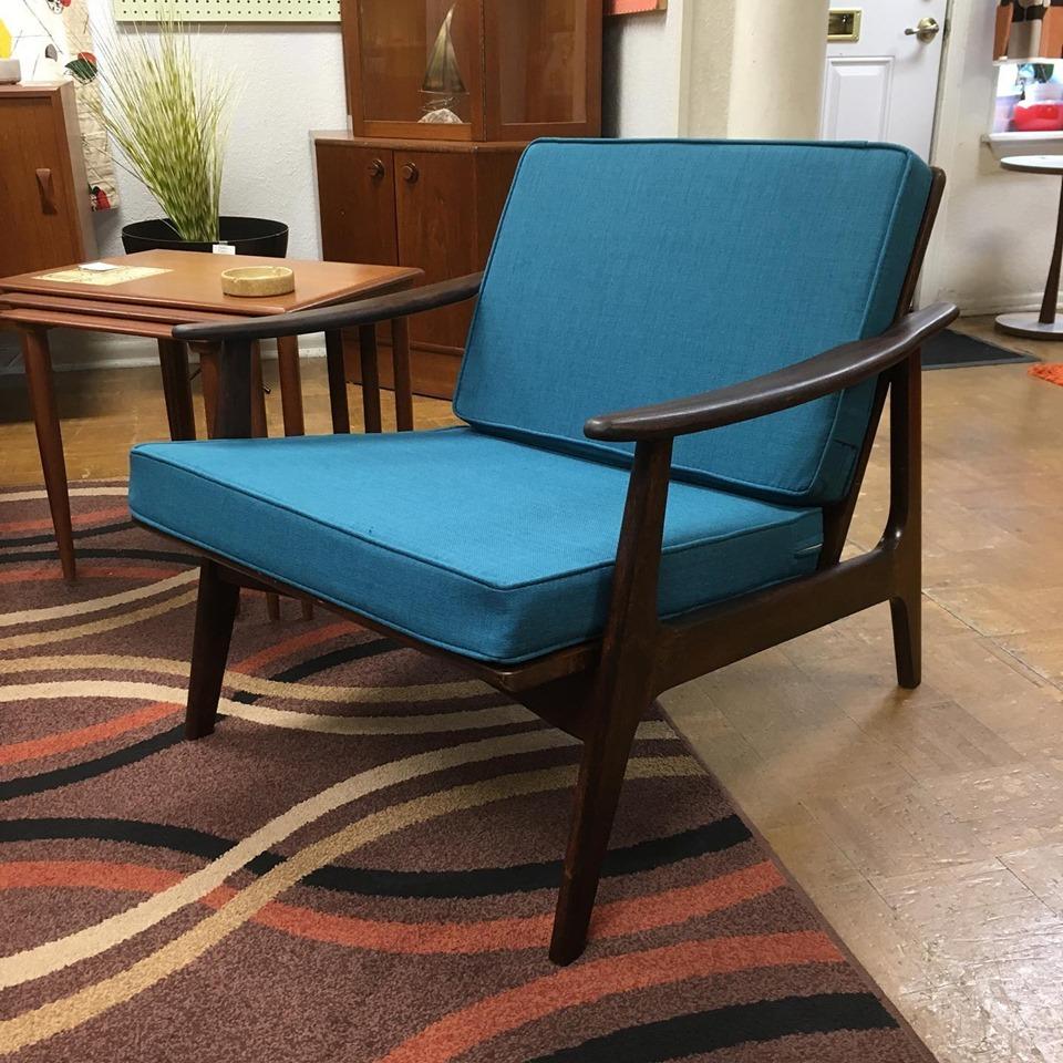 Danish Lounge Chair 600