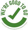We're good to go logo from VisitEngland Visit Scotland tourism northern ireland Cymru Wales