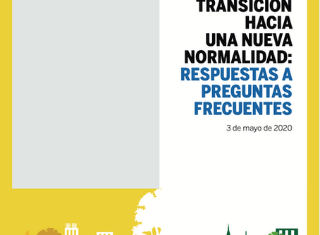 Plan para la Transición hacia una nueva normalidad: Respuestas a preguntas frecuentes