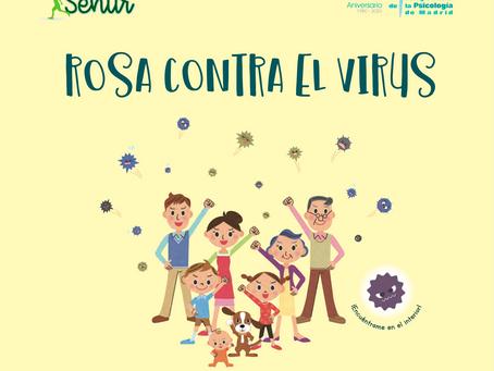 Rosa contra el virus, un cuento gratuito para explicar el Covid-19