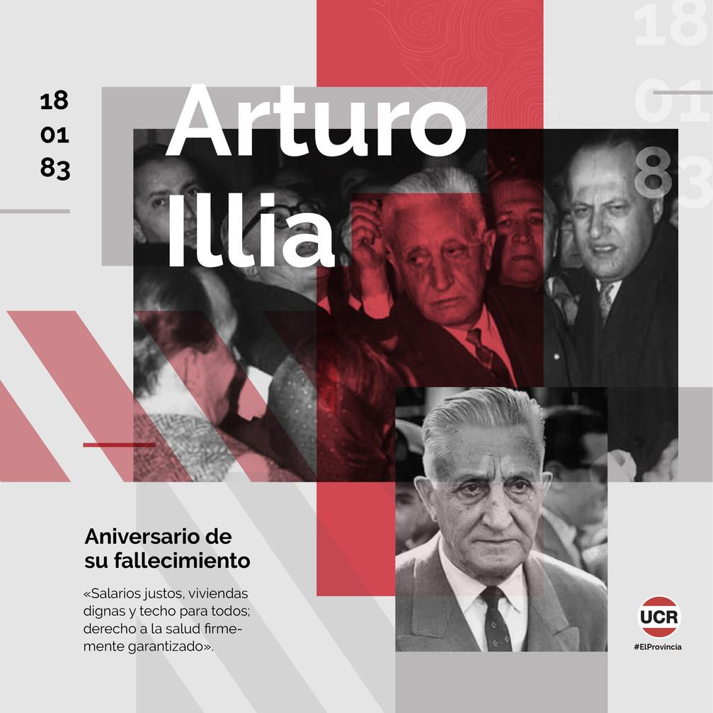 Homenaje a Arturo Illia