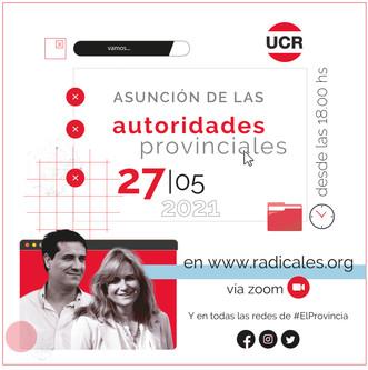 Asunción de autoridades provinciales