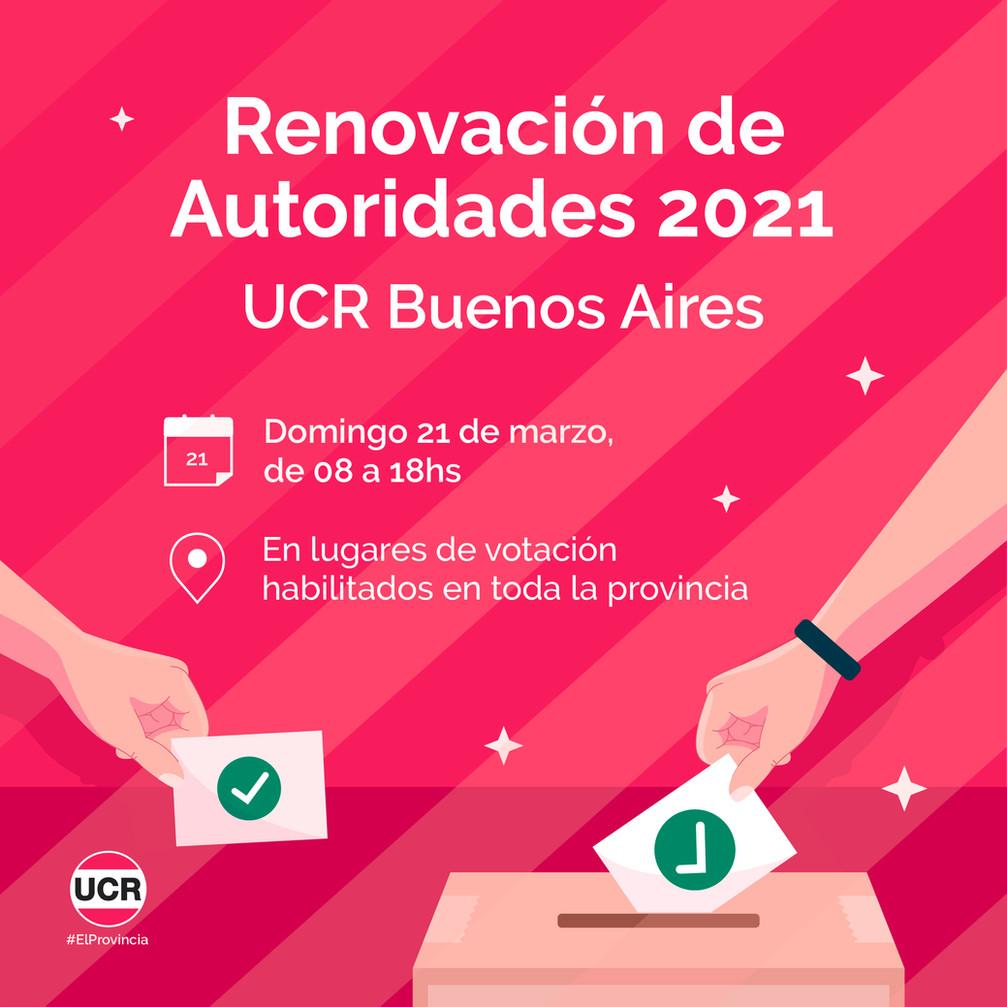 Renovación de autoridades 2021
