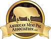 The American Mini Pig Association logo