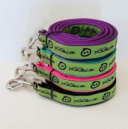 Large (wide) mini pig harness leashes