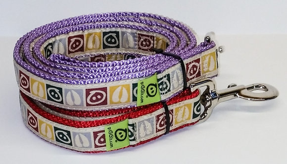 Design IT (c) mini pig harness leashes view closeup