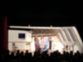 Les comédiens de BÉA, Alexandra Cyr, Yannick Chapdelaine, Suzanne Lantagne, Théâtre La Bête Humaine