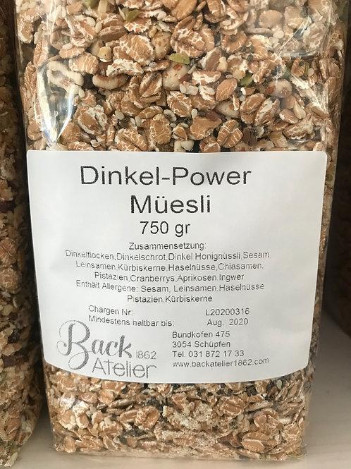 Dinkel Power Müesli