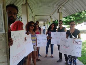 """Marcha """"Estupro Nunca Mais"""" - Campus UFPA/ Guamá."""