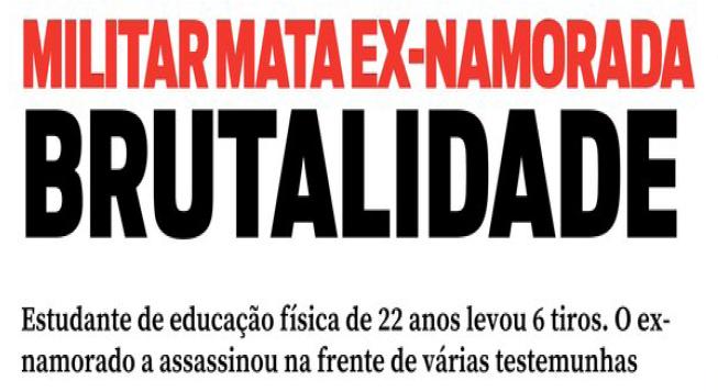 Manchete publicada em O Diário do Pará em 06/09/2016, no Caderno Polícia, p. 10