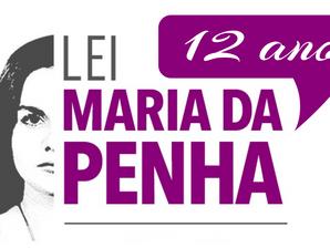 12 ANOS DA LEI MARIA DA PENHA  (Lei 11.340/2006)